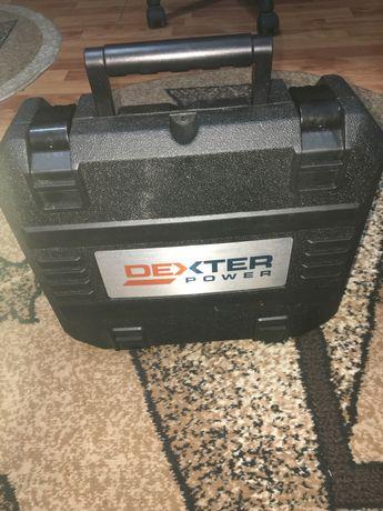 Masina de gaurit pe acumulator Dexter  18V