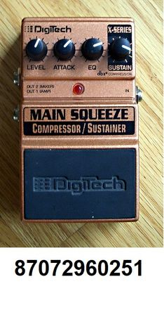 Продам гитарную примочку DigiTech Main Squeeze(Compressor-Sustainer