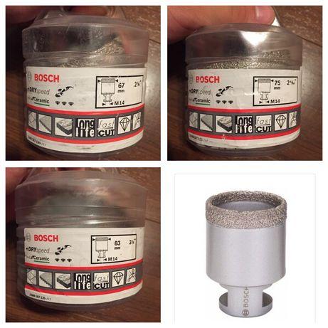 Bosch carote freze diamantate M14 pt flex 25 45 51 68 mm ceramica