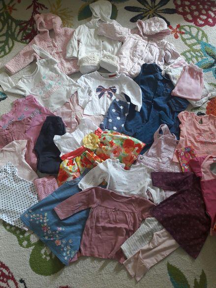 Якета, рокли, боди, блузки, бански George за момиченце 6-9м