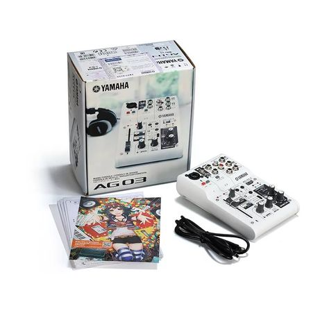 Продам микшер; звуковую / аудио карту Yamaha AG 03
