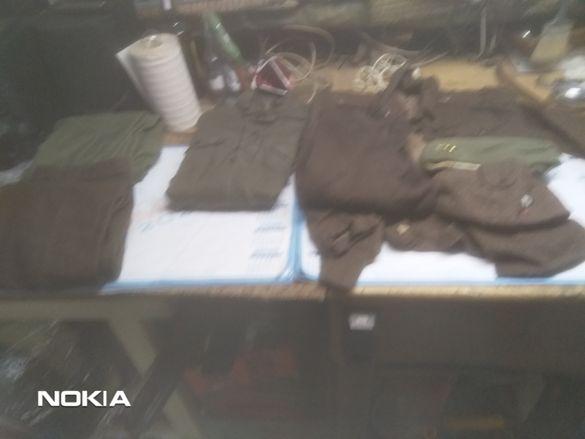 Войнишка униформа комплект -Въшкарник