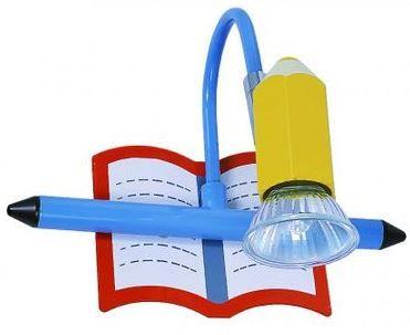 Спот с ключ за детска стая с включена 1xGU10 - 50W крушка