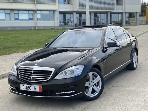 Mercedes-Benz S500L/Full Led/2011/Euro5/435 cp /BlueEfficiency