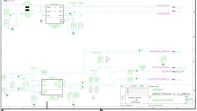 CD cu documentatie - scheme electronice interne div ecu-uri Bosch