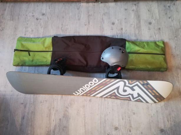 Pachet Snowboard Podium K2/Husa/Casca