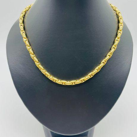 Златен Синджир 42,22ГР. 43СМ. 18КР. ПРОБА:750