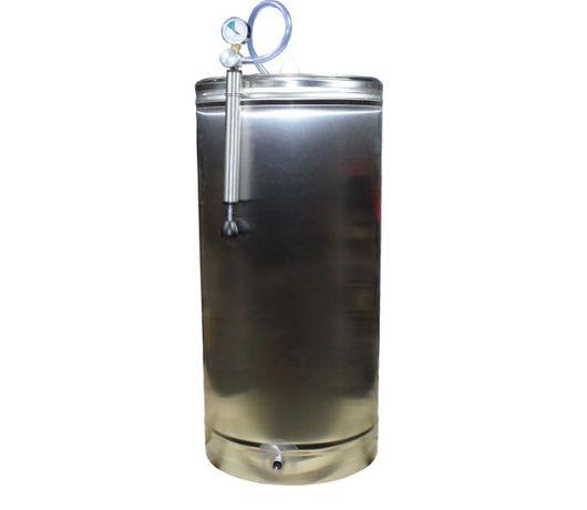 REDUCERE Butoi inox 150 L cu capac flotant, inox alimentar-livrare
