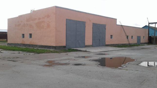 Складские помещения 500 кв. м.