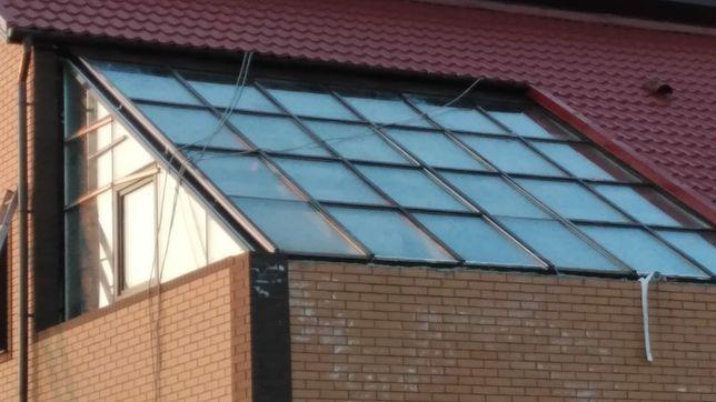 Строим стеклянные крыши