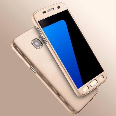 Защита на 360 градуса мат калъф кейс за Samsung Galaxy S6, S6 Edge