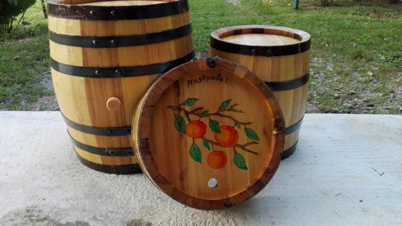 Бурета за ракия и вино