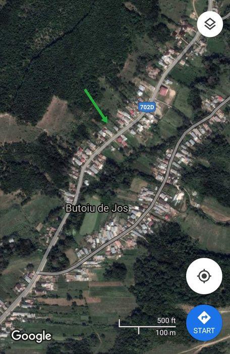 Teren 1000 mp în com. Hulubesti, sat Butoiu de Jos, jud. Dâmbovița Butoiu de Jos - imagine 1