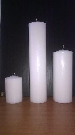 Lumânări simple, neornate
