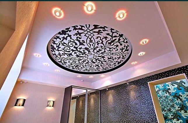 1200тНатяжные потолки