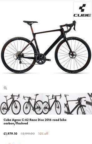 Cursiera Cyclocross/Gravel Cube Agree C62 Carbon Proiect