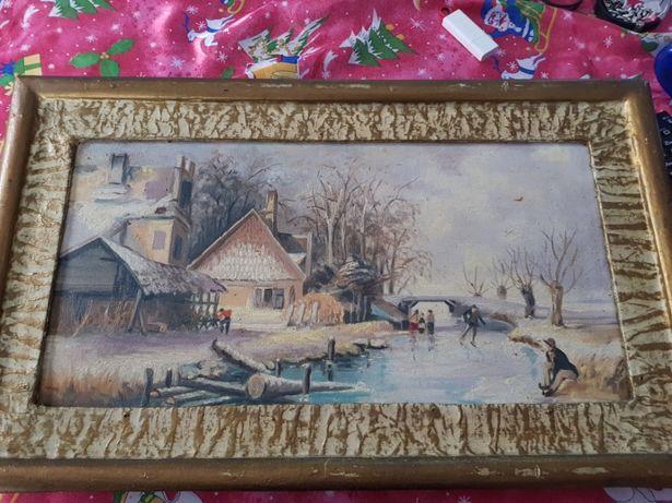 Vand picturi in ulei pe panza din 1984