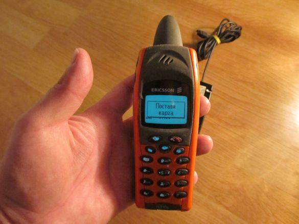телефон гсм ERICSSONR 310S произведен 2000г.