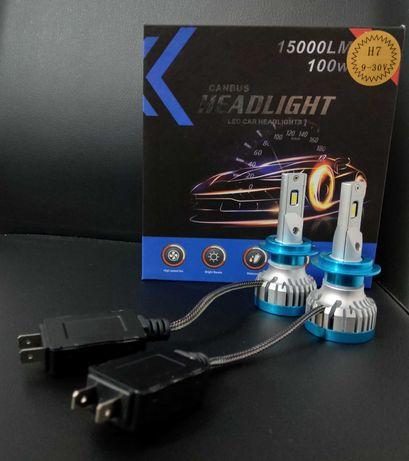 Kit led CABUS H7 100W 15000LM VOLTAJ 9-30