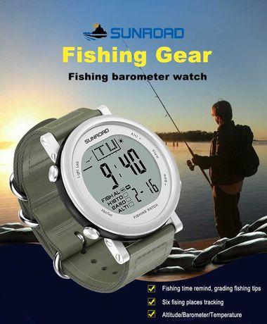Часы для рыбалки. Sunroad fr721    Б/У
