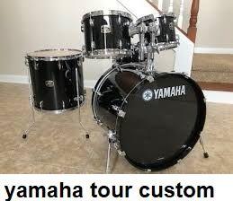 Новая барабанная установка Ямаха ТУР Кастом Индонезия-без тарелок