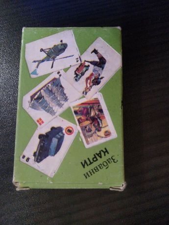 Карти за игра - ретро