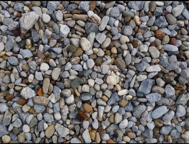 Transport Balast, pietriș, nisip, agregate, pământ, moluz