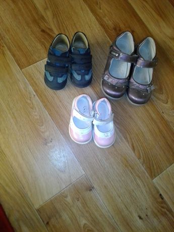 Детская обувь размеры 29;21;19;34