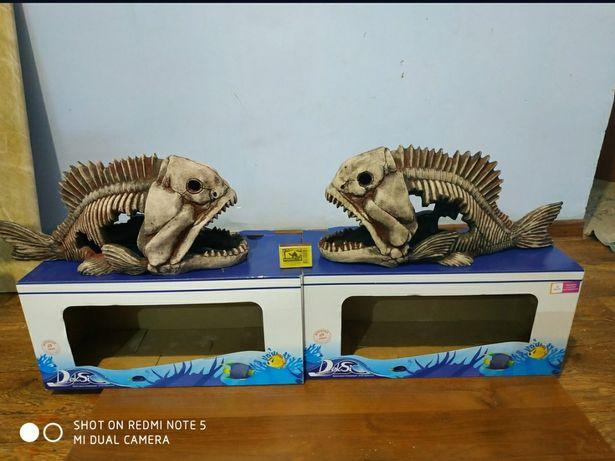 Скелет рыбы  для аквариума