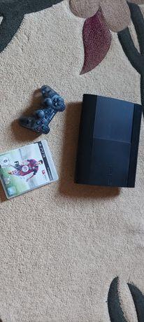 PS3 Super slim , 500GB , в отличном состоянии!