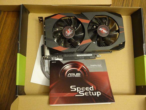 Геймърска видеокарта ASUS Nvidia GeForce CERBERUS GTX 1050 2GB DDR5