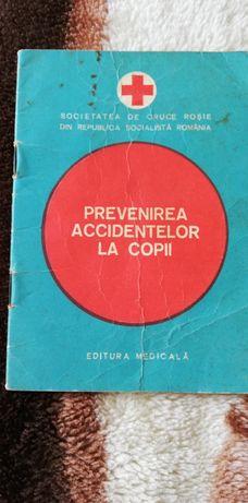 Broșură comunistă Prevenire accidentelor la copii