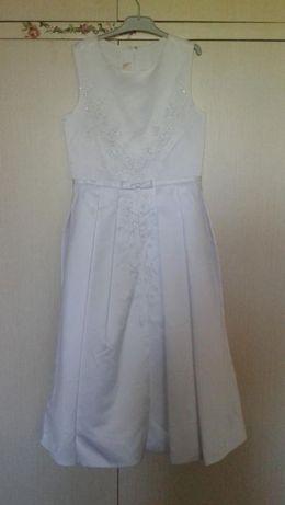 Детска бутикова копринена рокля