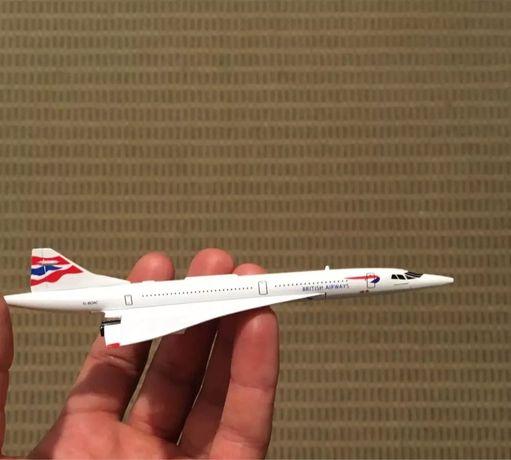 Macheta avion Concorde /cadou