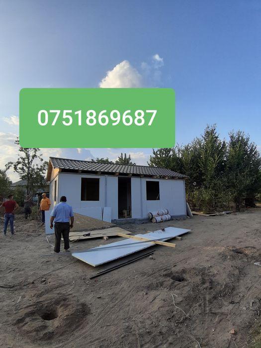 Construim case locuibile din panouri sandwich Avrig - imagine 1