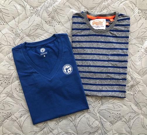 2бр за 25лв Superdry / Birkenstock ОРИГИНАЛНИ мъжки тениски - р.М