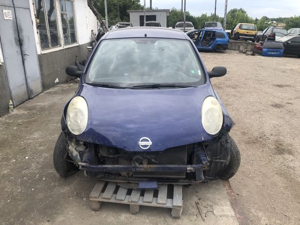 Нисан Микра / Nissan Micra 1.2i 65кс. 2004г. - НА ЧАСТИ