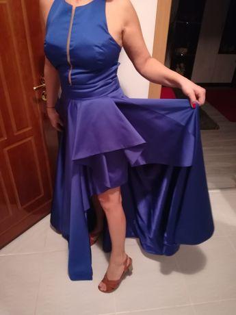 Rochie albastra de ocazie masura 38
