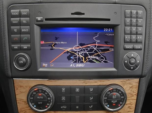 Mercedes Sprinter DVD harta navigatie Europa + Romania 2020
