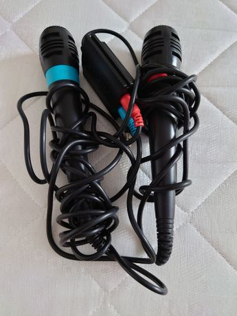 Microfoane ps3  + joc Sing it