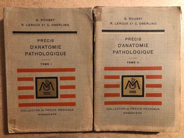 Carte veche Precis D'Anatomie Pathologique, vol I+II