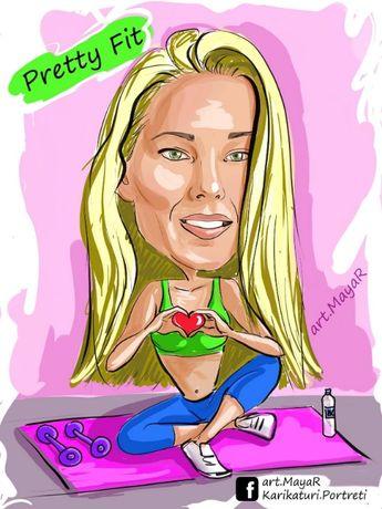Карикатури по снимка (дигитална рисунка)