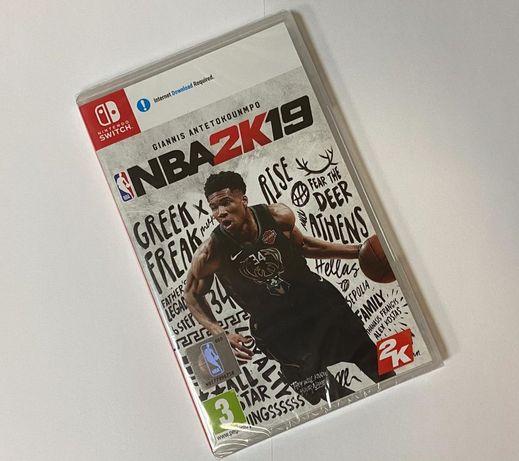 """CD NOU, sigilat, cu joc: """"NBA 2K 19"""", pentru consolă Nintendo Switch."""