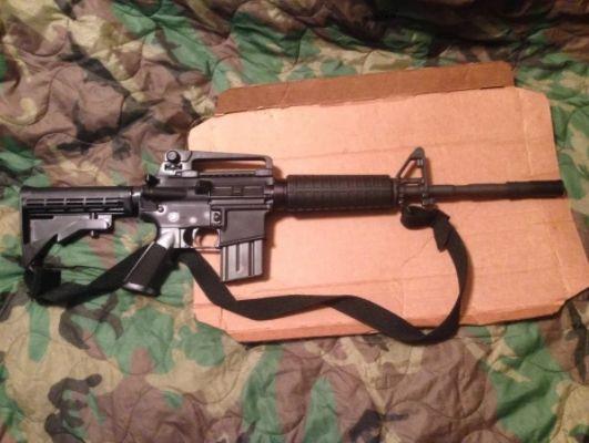 Pusca Colt M4 (MANUALA!!)Airsoft Carabina pistol GAZ Co2 Carabina NOUA