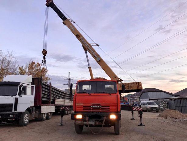 Услуги автокрана от 16 до 25 тон