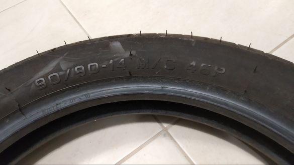 Гуми за скутер запазени