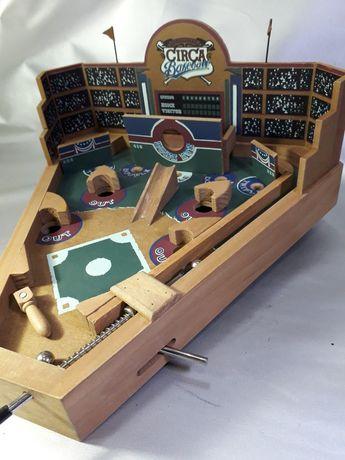 Baseball fliper din lemn original vechi din lemn
