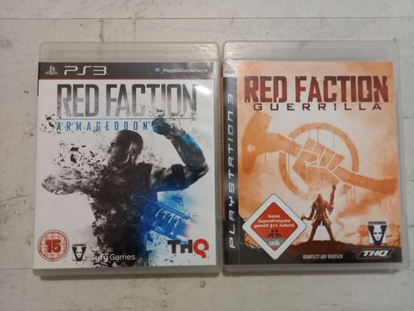 Red Faction Armagedon + Red Faction Guerrilla за PlayStation 3 PS3