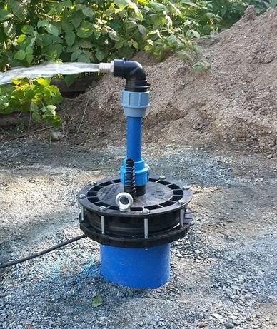 Восстановление и бурение водяных скважин, монтаж водопровода