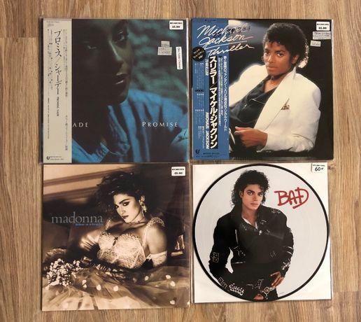 Грамофонни плочи на SADE,Madonna,Michael Jackson
